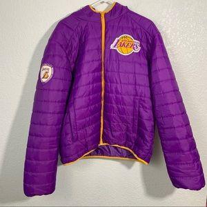 NBA Lakers Puffer Jacket 2012 XL